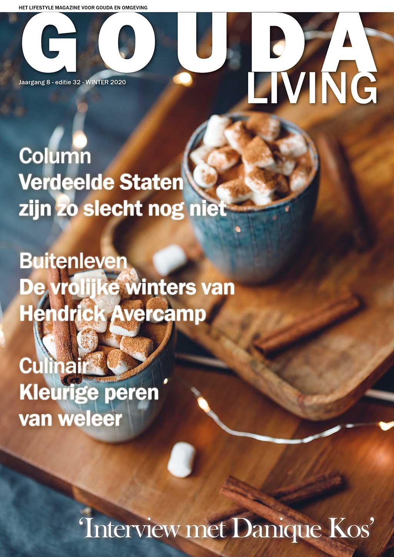 Cover Gouda Living editie 32 - winter 2020