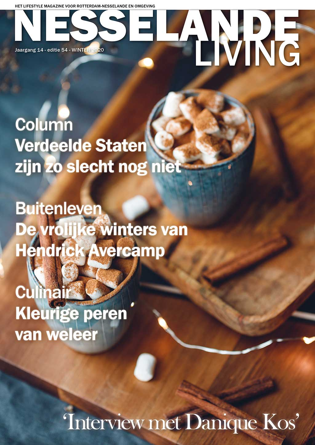 Cover Nesselande Living editie 54 - winter 2020