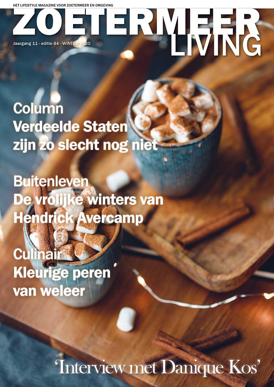 Cover Zoetermeer Living editie 44 - winter 2020