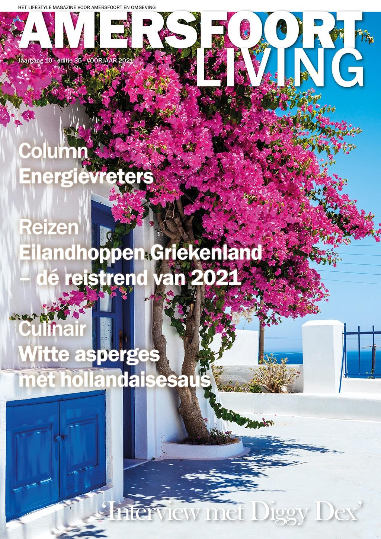Cover Amersfoort Living editie 35 - voorjaar 2021