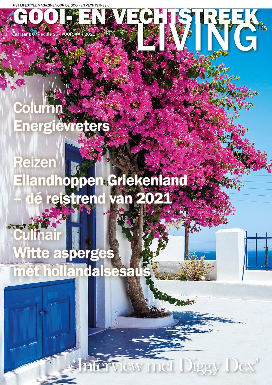Cover Gooi- en Vechtstreek Living editie 25 - voorjaar 2021