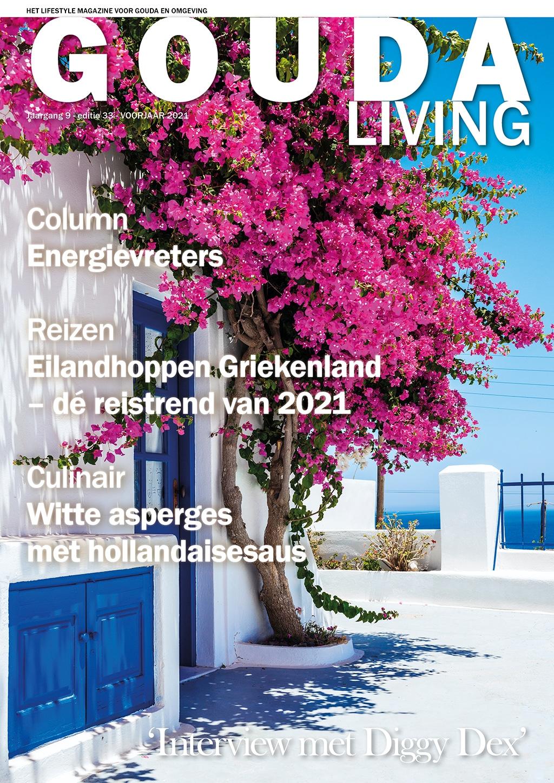 Cover Gouda Living editie 33 - voorjaar 2021