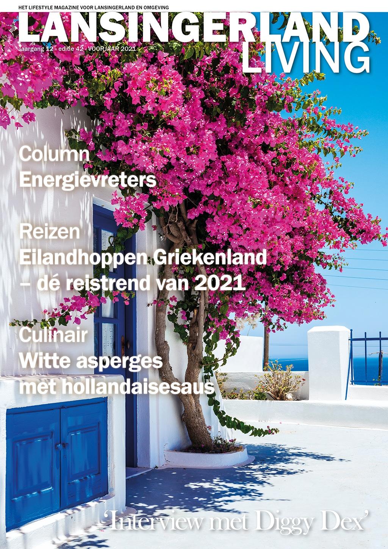 Cover Lansingerland Living editie 42 - voorjaar 2021