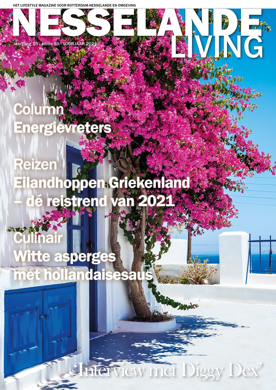 Cover Nesselande Living editie 55 - voorjaar 2021