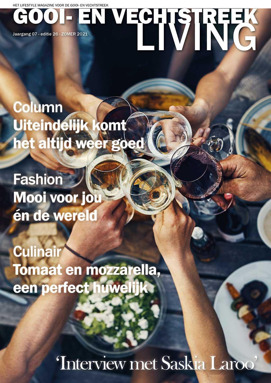 Cover Gooi- en Vechtstreek Living editie 26 - zomer 2021
