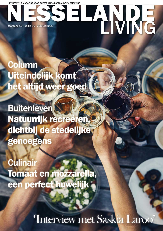 Cover Nesselande Living editie 56 - zomer 2021