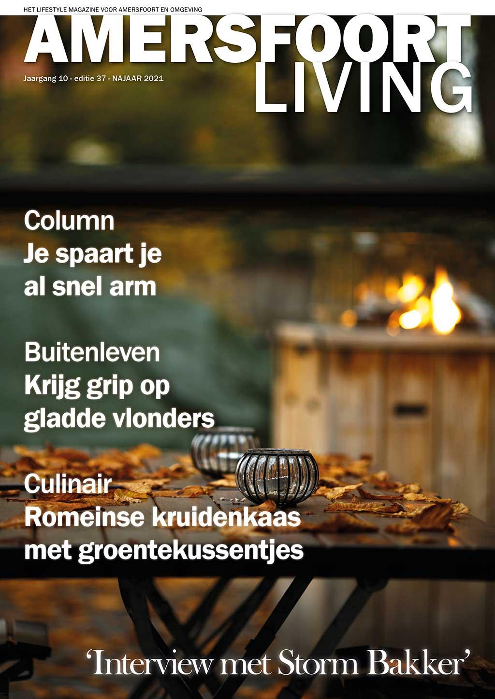 Cover Amersfoort Living editie 37 - najaar2021