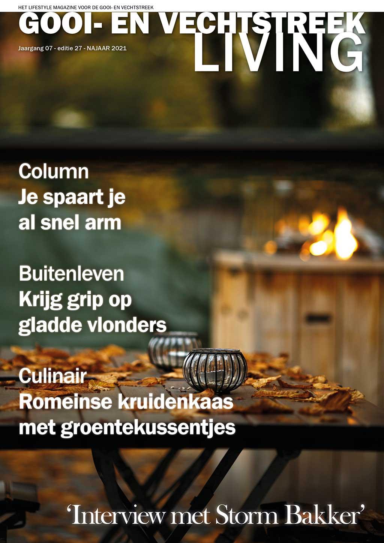 Cover Gooi- en Vechtstreek Living editie 27 - najaar 2021