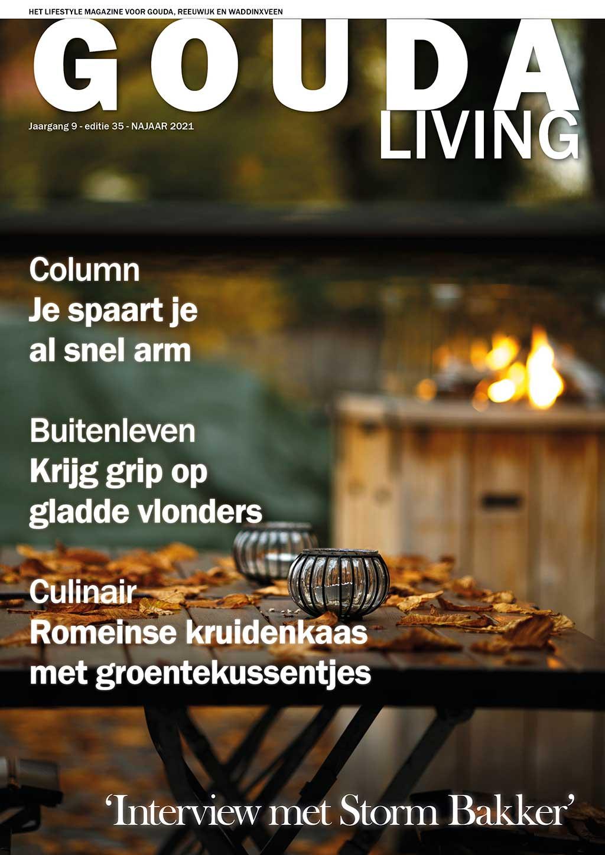 Cover Gouda Living editie 35 - najaar 2021