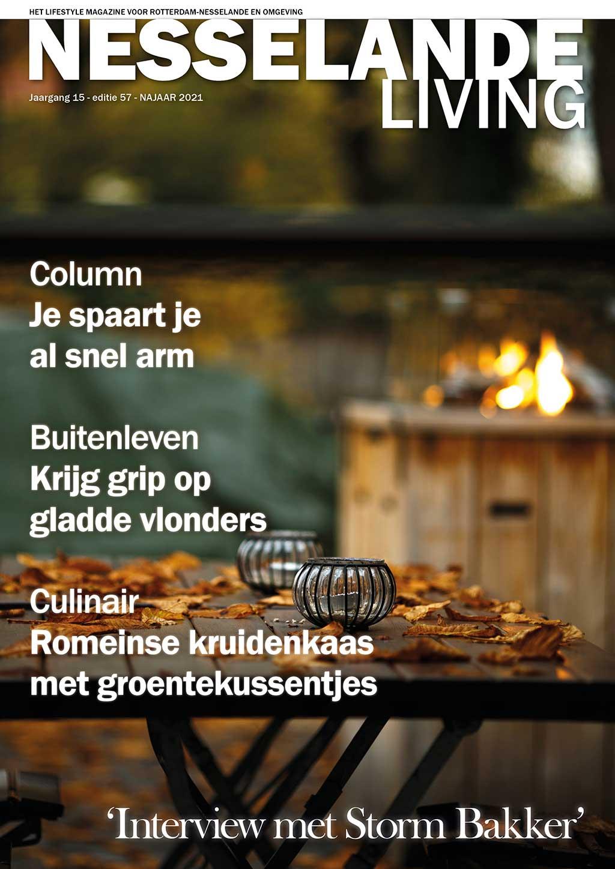 Cover Nesselande Living editie 57 - najaar 2021