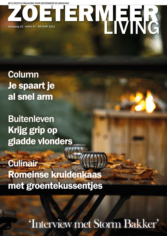 Cover Zoetermeer Living editie 47 - najaar 2021